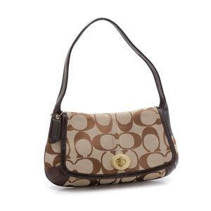 Coach Signature Classic Shoulder Bag